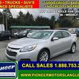 2015 Chevrolet Malibu BASE  - Bluetooth -  SiriusXM - $91.18 B/W