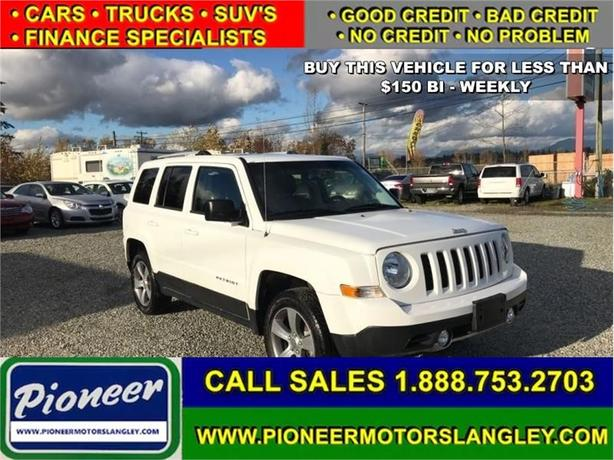 2016 Jeep Patriot Sport  - Sunroof -  Leather Seats - $136.09 B/W