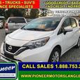 2017 Nissan Versa Note SV  - Bluetooth -  Heated Seats - $97.04 B/W
