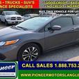 2014 Honda Civic Coupe EX  - Sunroof -  Bluetooth - $118.90 B/W