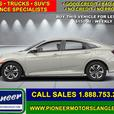 2018 Honda Civic Sedan LX CVT  - Bluetooth -  Premium Audio - $148.19 B/W