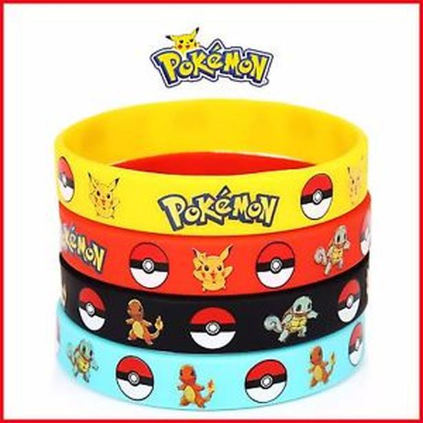 New Pokemon Silicone Bracelet Sets - $8 each set of 5 bracelets