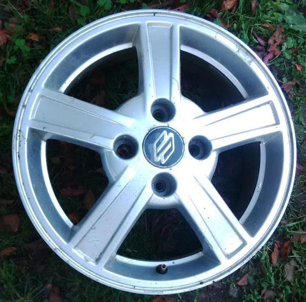 "4X114 Alloy 16"" Wheels In Excellent Condition With All"