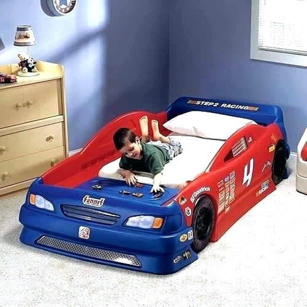 Cars Toddlertwin Convertible Race Car Bed West Shore Langford