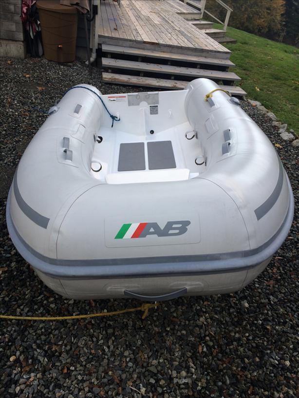AB Hypalon RIB Inflatable dinghy Outside Victoria, Victoria