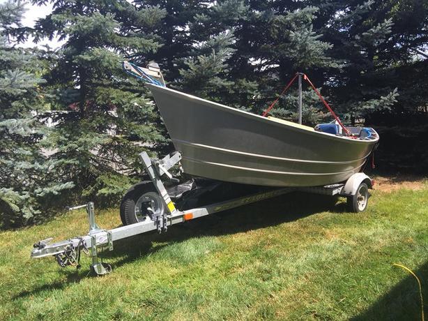 $6,500 · 14 Foot Lifetimer Drift Boat Setup