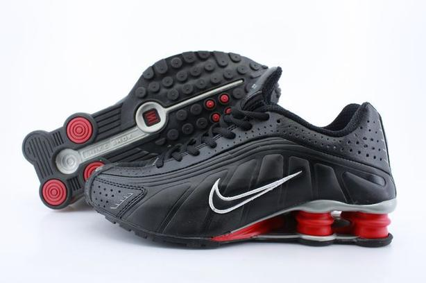 fd5996669bad Nike Shox R4 Black Red 2001 Original Release Size 10 Victoria City ...