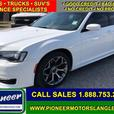 2017 Chrysler 300 S  - Leather Seats -  Bluetooth - $208.48 B/W