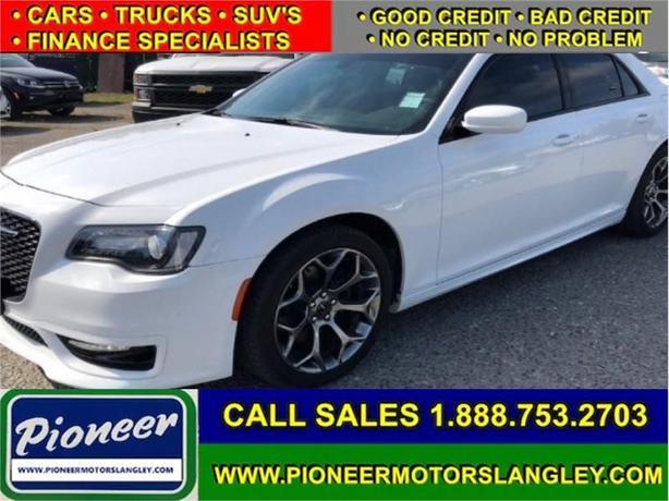 2017 Chrysler 300 S  - Leather Seats -  Bluetooth - $208.48 B/W
