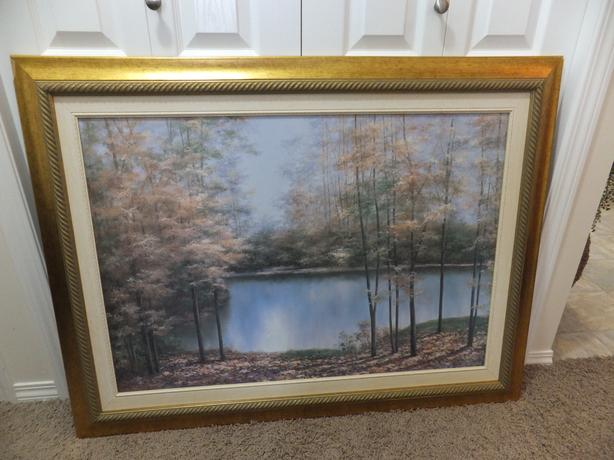 FOR SALE Picture of Water Scene with Lake $25