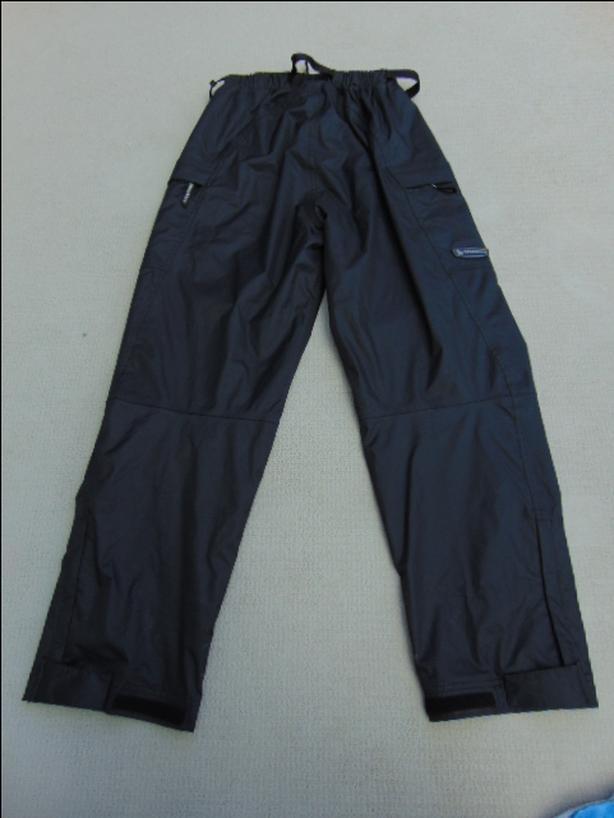 Rain Pants Men's Size Medium Wetskins Black