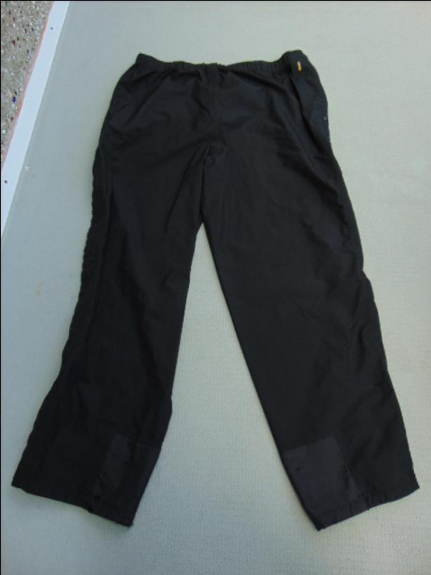 Rain Pants Men's Size XX Large MEC Mountain Co op Gore-Tex Black