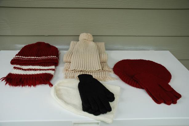 Vintage Knitwear - Hand-made Scarves, Hats, Mittens