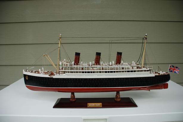 Replica Of The Queen Mary Ocean Liner