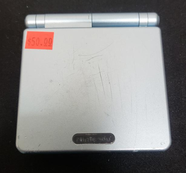 Light Blue Gameboy Advance Sp System Ags 001 Saanich Victoria