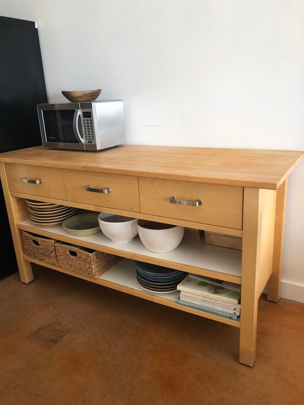  Log In needed $350 · IKEA Varde Kitchen Island