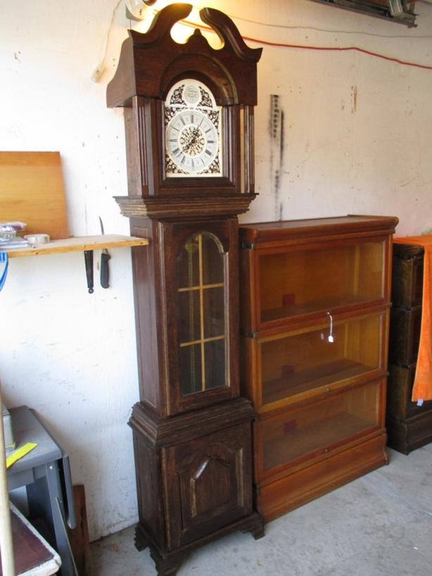 GRANDFATHER CLOCK FROM DUTCH SURINAM ESTATE