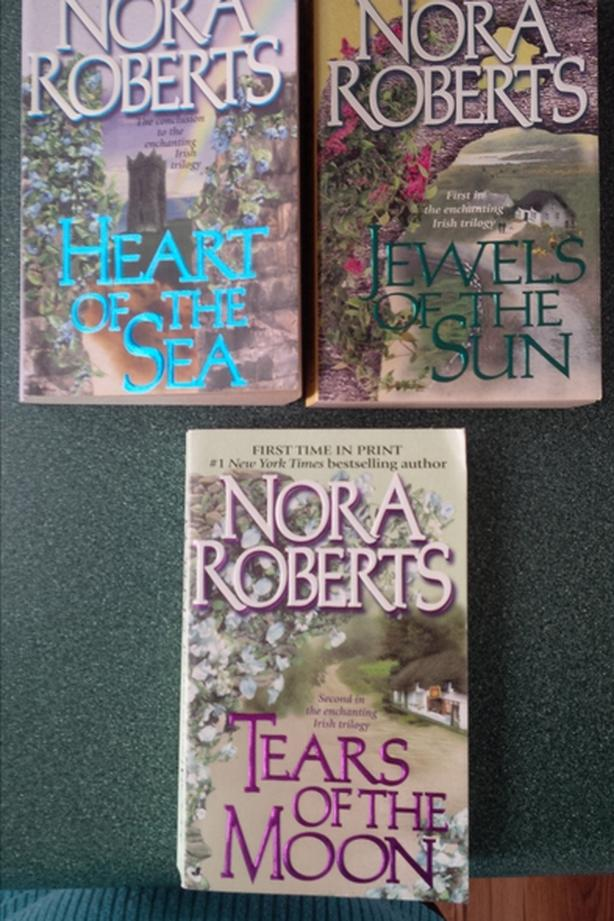  Log In needed $2 · Nora Roberts books