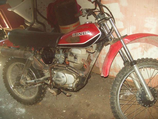 1982 ,100 bike