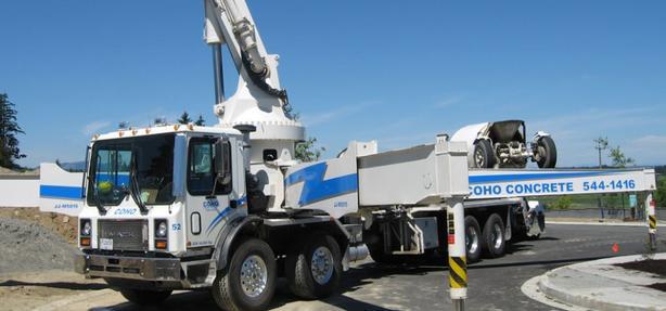 Concrete Line and Boom Pump Operator