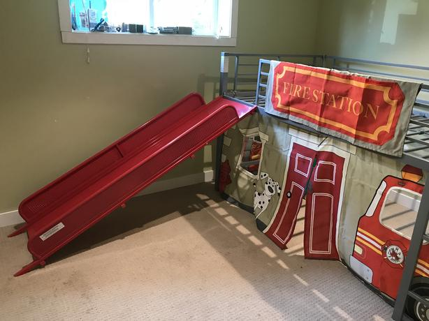 Fire Engine Loft Bed Outside Victoria Victoria