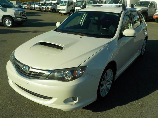 2008 Subaru Impreza WRX Manual