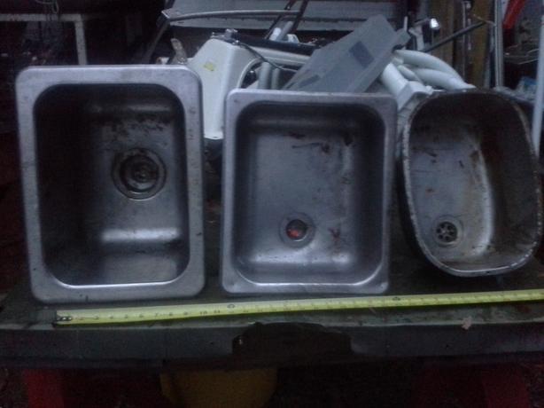 3 Marine or RV Stainless Steel sinks