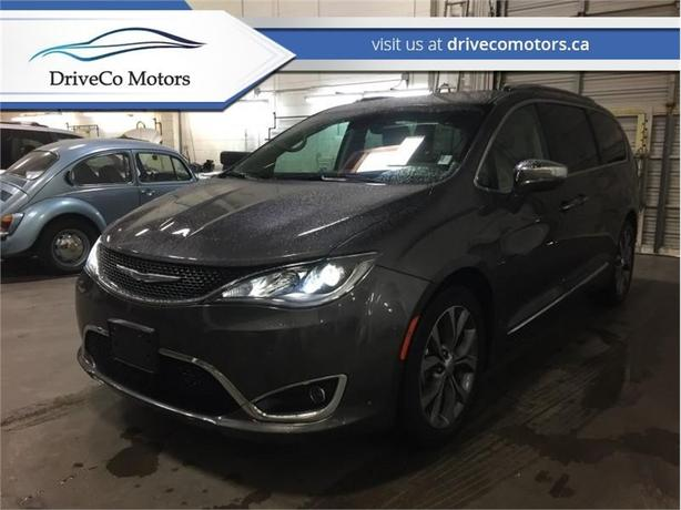 2017 Chrysler Pacifica Limited  - Navigation -  Leather Seats - $241.05 B/W