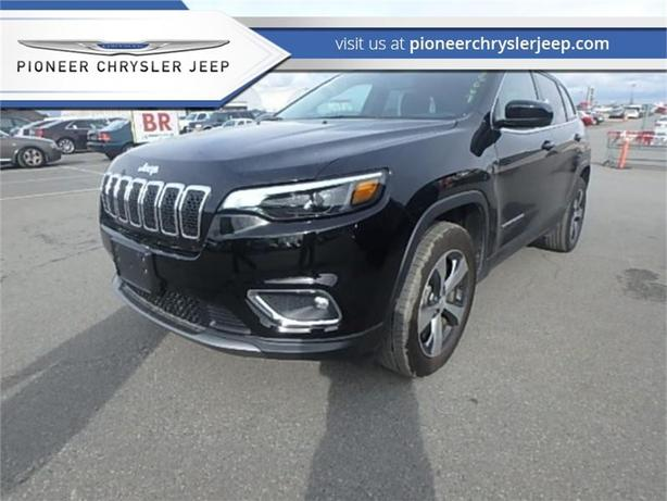 2019 Jeep Cherokee Limited 4x4  -Leather -Nav -Sunroof