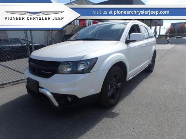 2018 Dodge Journey Crossroad  -Nav -Leather -Sunroof