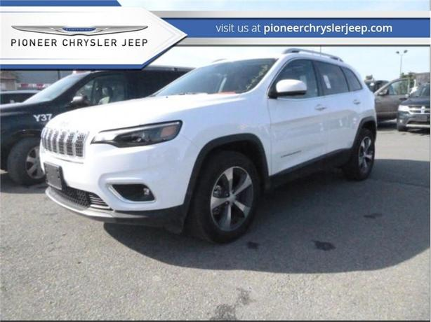 2019 Jeep Cherokee Limited 4x4  -Nav -Sunroof -Leather
