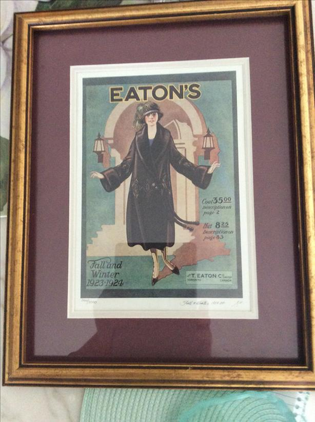 Eaton's Limited Edition 1923-24 Fall and Winter Catalogue  Front Cover