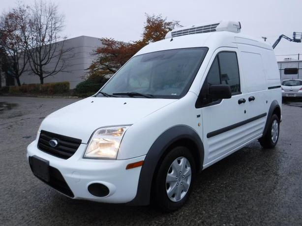 2011 Ford Transit Connect Reefer XLT with Rear Door Glass Cargo Van