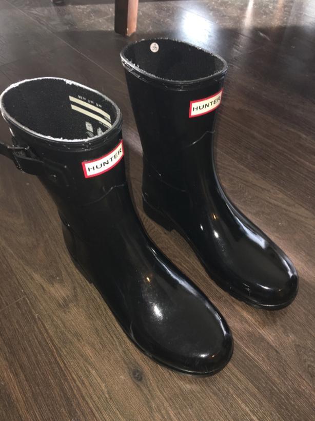 Hunter Boots Size 7 Womens Victoria City cc96d14c87