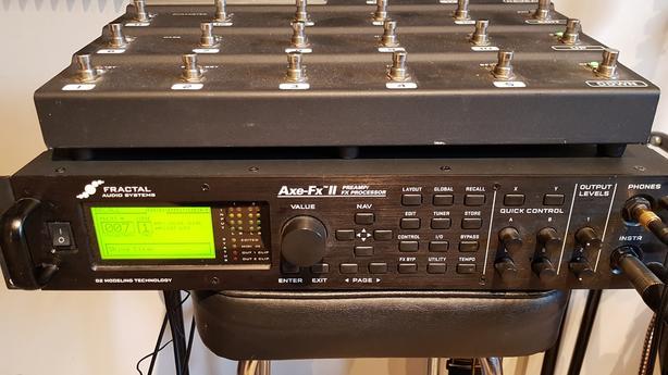  Log In needed $2,200 · Fractal Axe FX II