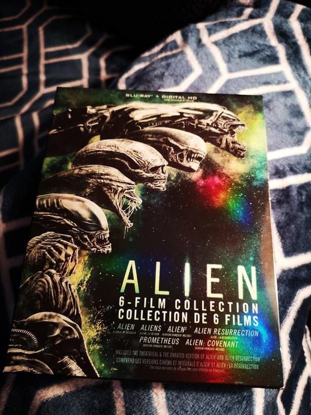 Alien 6 film collection Blu-ray