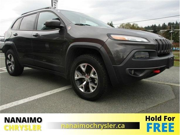 2014 Jeep Cherokee Trailhawk Navigation Power Sunroof