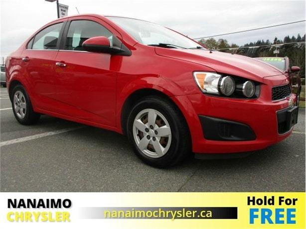 2013 Chevrolet Sonic LT Remote Start BlueTooth