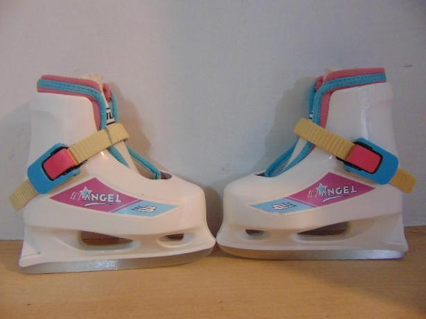 Ice Skates Child Size 6-7 Toddler Bauer Lil Angel Adjustable With Molded  Liner 53cff97df548