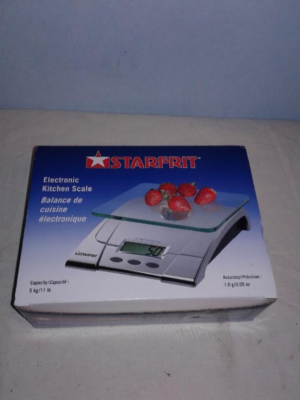 Starfrit 5kg Kitchen Scale Victoria City, Victoria