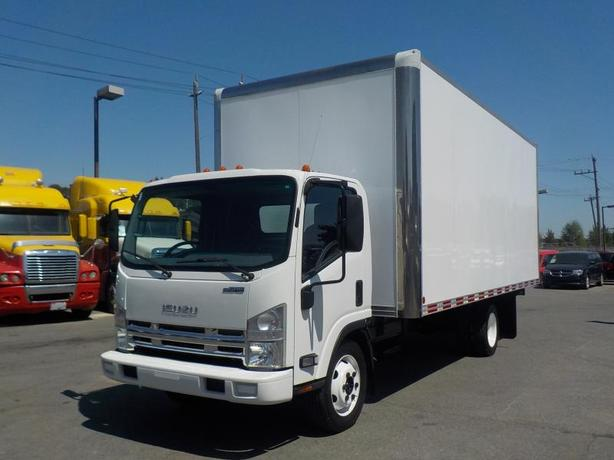 2015 Isuzu 20 Foot Cube Van V8 Gas