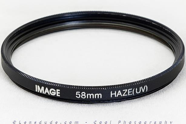Filters for Camera Lenses /w 55mm, 58mm or 77mm Threads