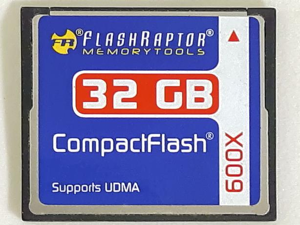 600X (90 MB/s) Compact Flash (CF) Memory Cards