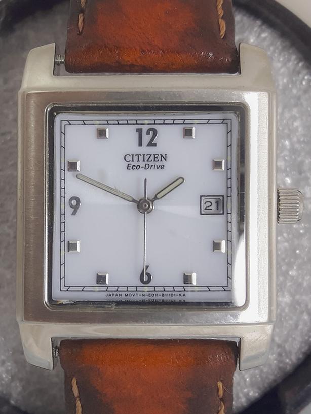 Citizen ECO-DRIVE Solar-Powered Watch