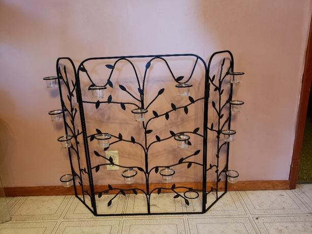 Candle Holder Fireplace Screen Mill Bay Cowichan Mobile