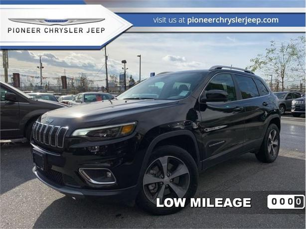 2019 Jeep Cherokee Limited 4x4  -Leather  -Sunroof