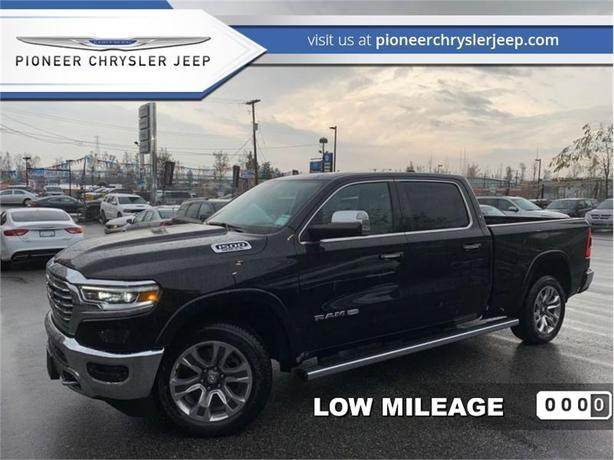 2019 Ram 1500 Laramie Longhorn  -Leather -Nav -Sunroof