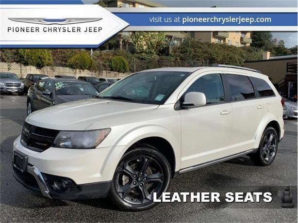 2018 Dodge Journey Crossroad  -Nav -Leather -Sunroof -7 Seats