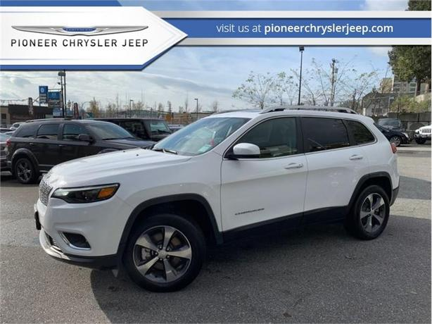 2019 Jeep Cherokee Limited 4x4  -Sunroof -Leather
