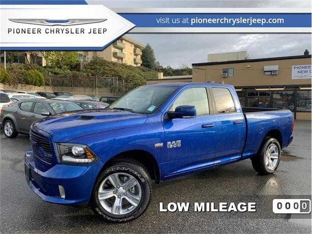 2018 Ram 1500 Sport  - Leather - Nav - Sunroof